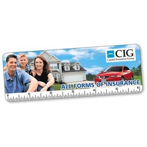 "6"" Custom Lenticular Animated FLIPIMAGE (Bookmark/Ruler)"